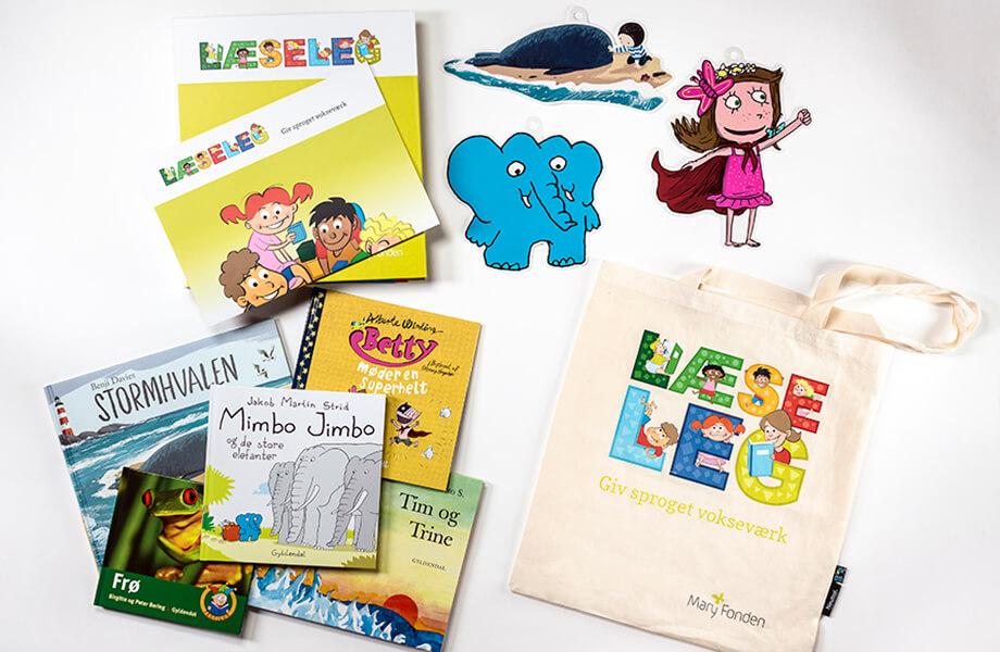 LæseLeg - dialogisk læsning for 1-6-årige