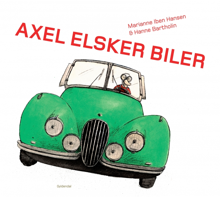 Axel elsker biler - LæseLeg