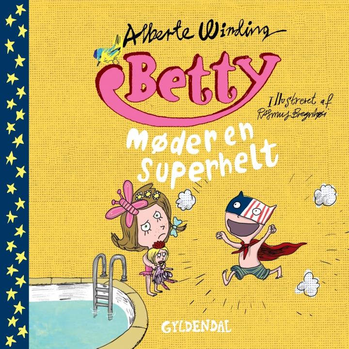 Bogforside Betty møder en superhelt
