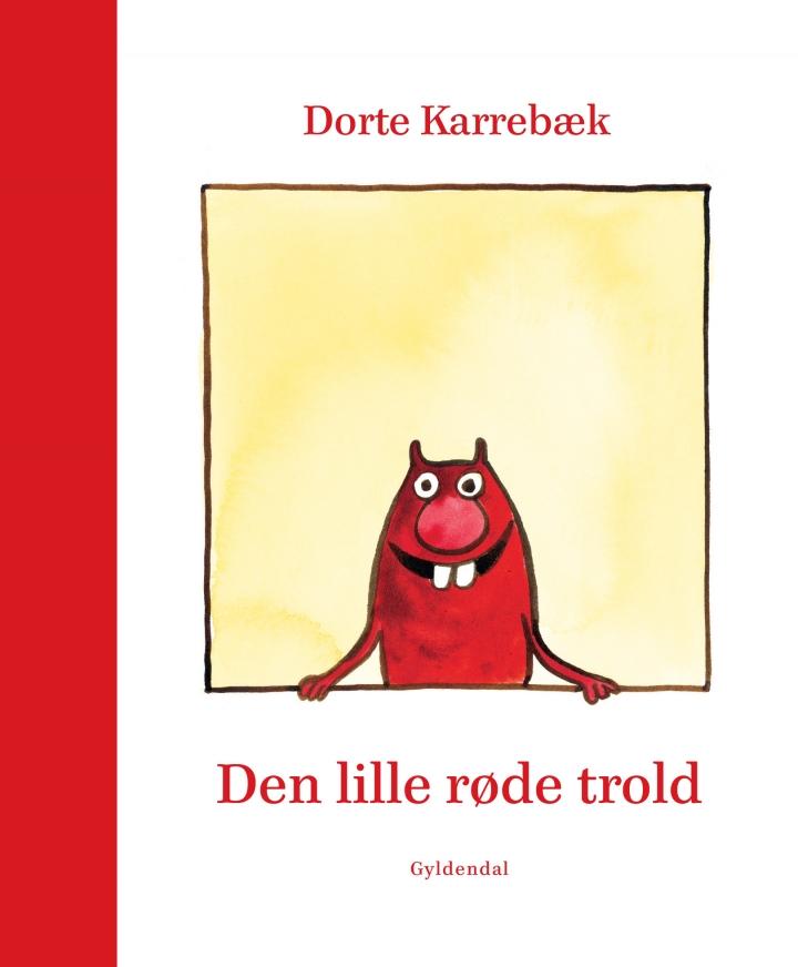 Bogforside Den lille røde trold