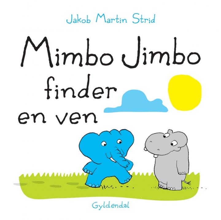 Bogforside Mimbo Jimbo finder en ven