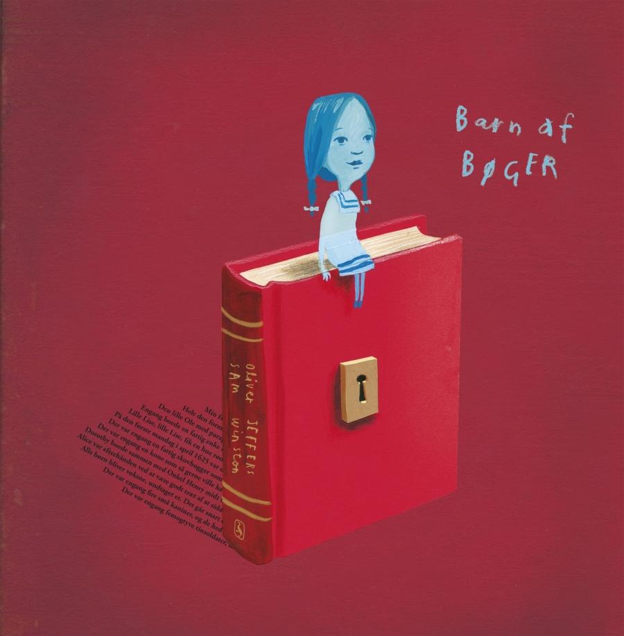 Bogforside - Barn af bøger