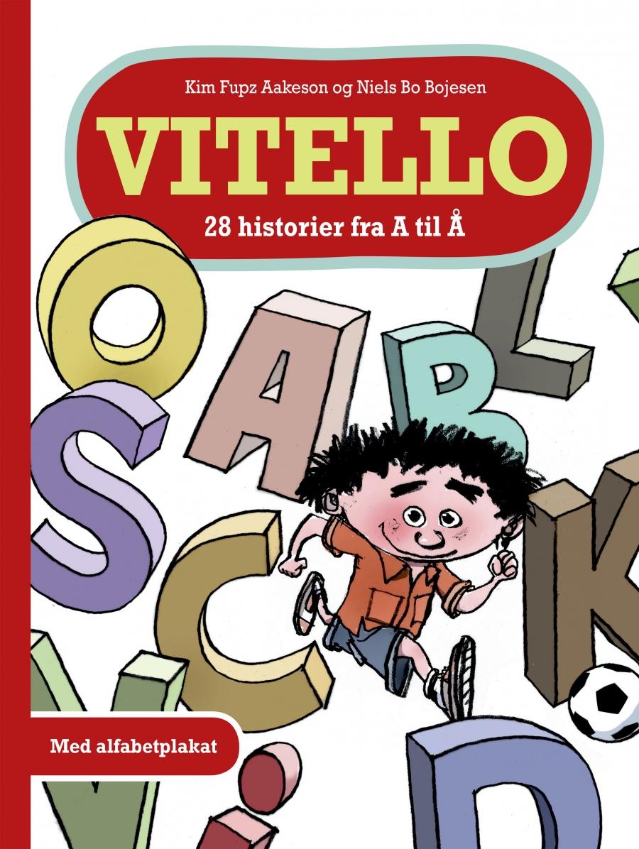 Bogforside - Vitello 28 historier fra A til Å