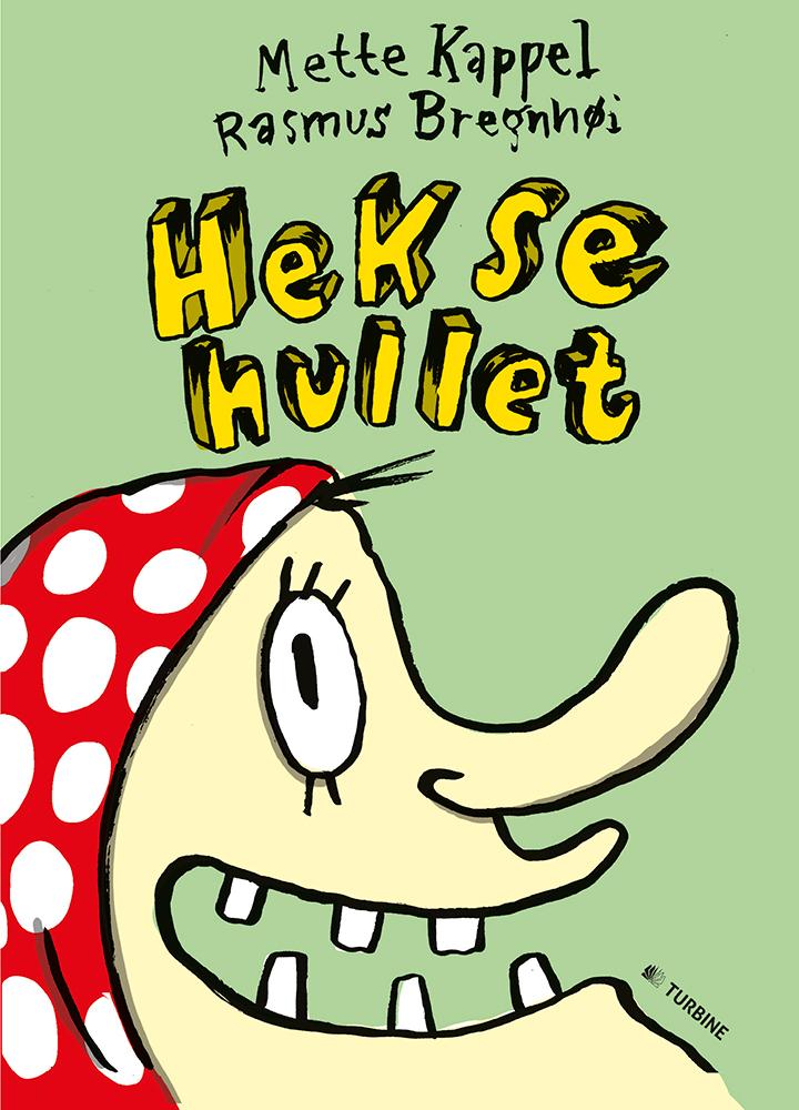 LæseLeg-bogen Heksehullet velegnet for de 3-4-årige.