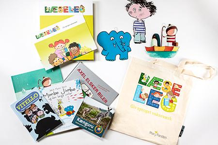 LæseLeg-bogpakke 5-6 år