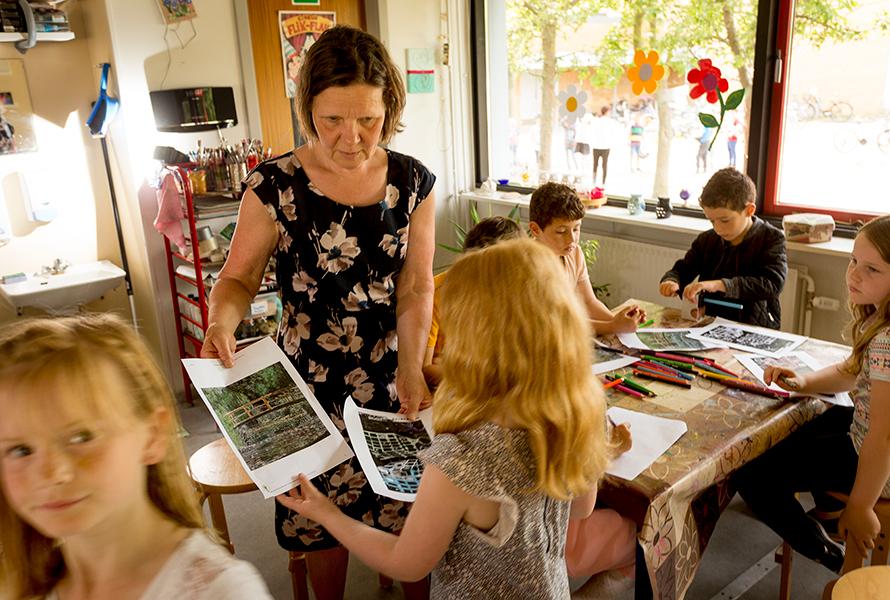 Lajla Lykke har arbejdet med LæseLeg i flere år.