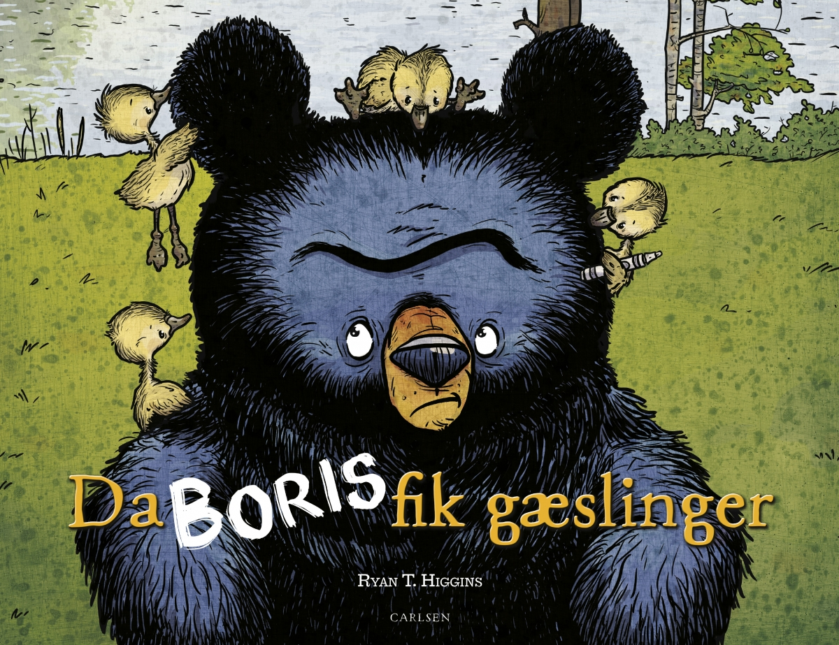 Bogforside - Da Boris fik gæslinger
