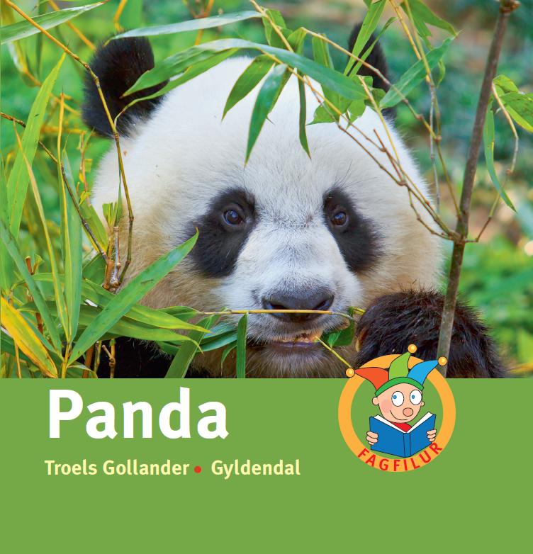 Bogforside - Panda